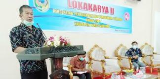 Sekretaris Kabupaten Buka Lokakarya II Percepatan Penanganan Stunting Parigi Moutong 2021