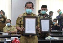 DIPA dan TKDD 2021 Sulteng Diserahkan