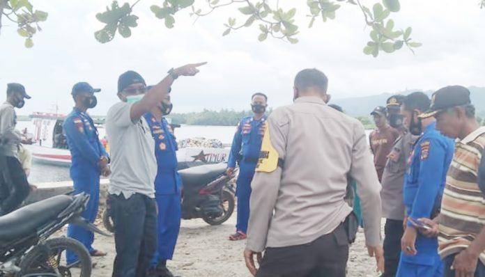 Kapal Tangkap Ikan Karam di Tambu, Seluruh ABK Selamat