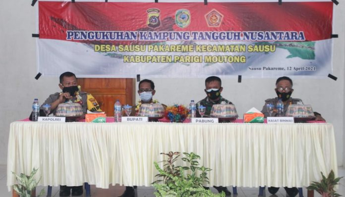 Pemkab Kukuhkan Kampung Tangguh Nusantara