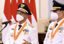 Positif Covid, Gubernur dan Wakil Gubernur Sulteng Jalani Isolasi Mandiri