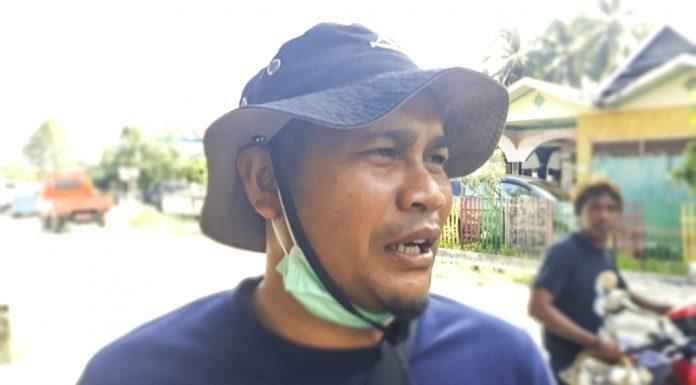 Kabid Bina Marga DPUPRP Parigi Moutong, I Wayan Mudana