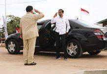 Kemesraan Jokowi dan Prabowo di Bumi Cenderawasih