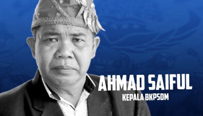 Saiful : Tak Ada Kegaduhan Dalam Pelantikan Pejabat Eselon