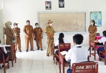 Wabup Pantau PTM di Sejumlah Kecamatan